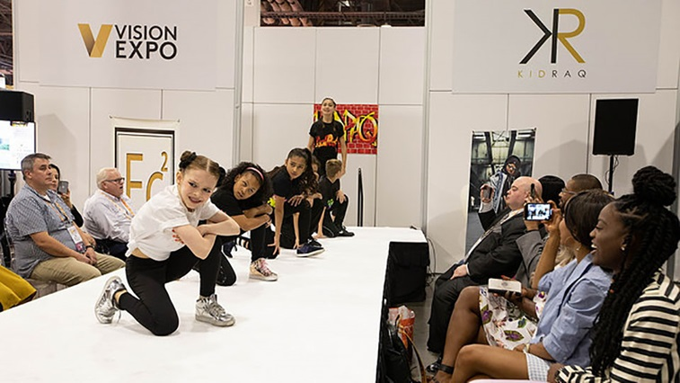 VisionExpo West fashion show