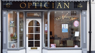 optometrists window