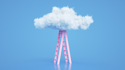 cloud and ladder