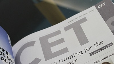 OT CET journal page