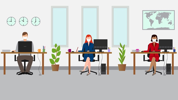 office animation