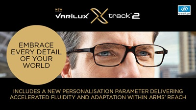 Essilor Varilux Track 2 advert