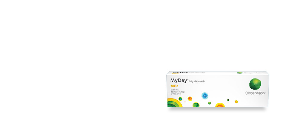 CooperVision MyDay packshot