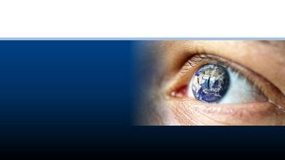An eye close-up