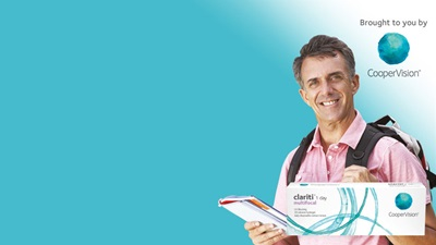 CooperVision advertorial banner