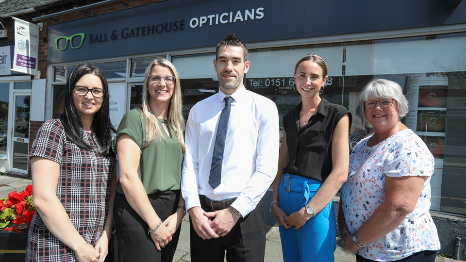 Ball and Gatehouse Opticians team
