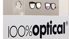 100% Optical display