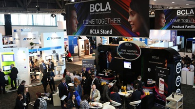 BCLA conference exhibition hall 2015