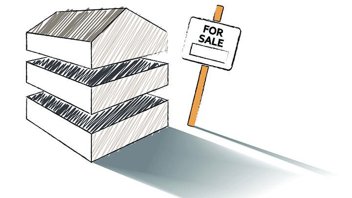 House for sale cartoon