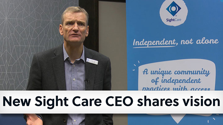 Sight Care chief executive, John French