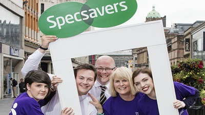 Specsavers trongrate staff