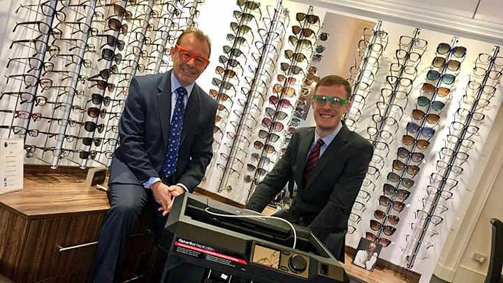 Urquhart Opticians is using 3D technology