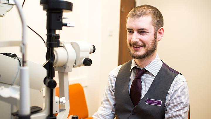 Bayfields optometrist Patrick
