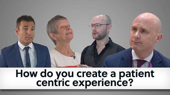 How do you create a patient centric experience video