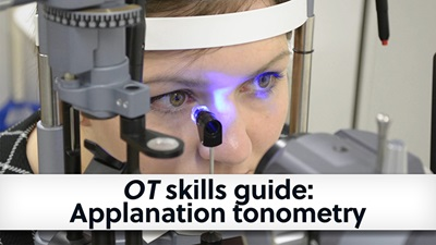 Banner cover of applanation tonometry skills guide
