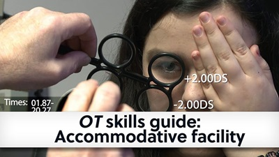 OT skills guide accomodative facilty banner