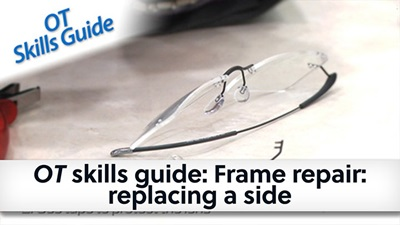 OT skills guide Frame repair replacing a side banner