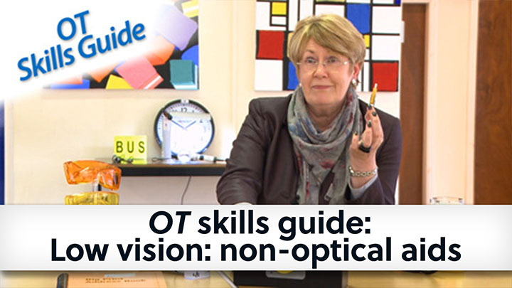 OT skills guide non optical aids banner