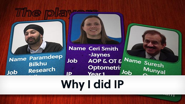 Dr Paramdeep Bilkhu, Ceri Smith-Jaynes, Suresh Munyal