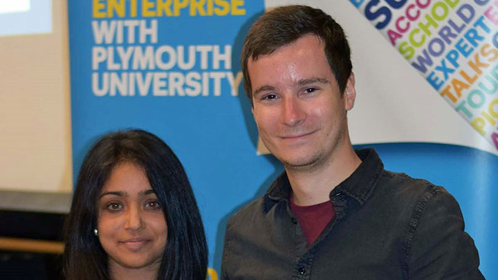 Geoffrey Filmore won the First Year Clinical Optometry Prize at Plymouth University