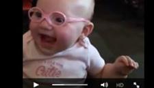 videoofbabytryingglasses