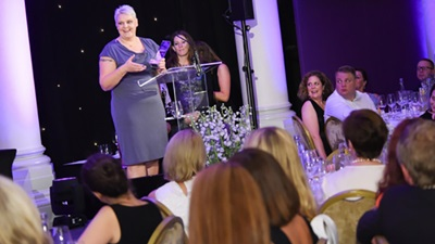 Specsavers win Worldpay everywoman award