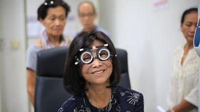 Cambodia clinic patient