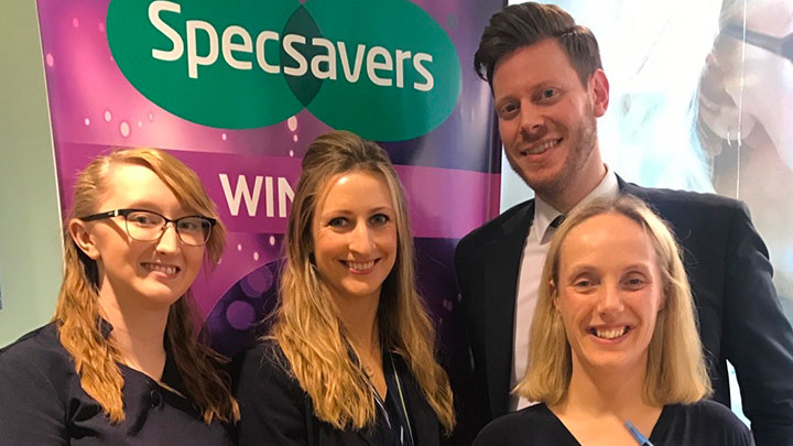 Specsavers contact lens support team