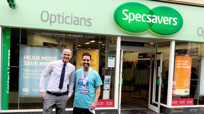 Optometrist at Specsavers in Swindon, Ahmed Ejaz