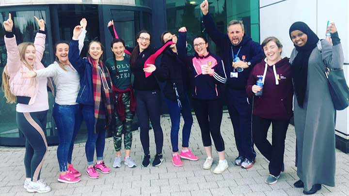 Ulster University students support World Sight Day