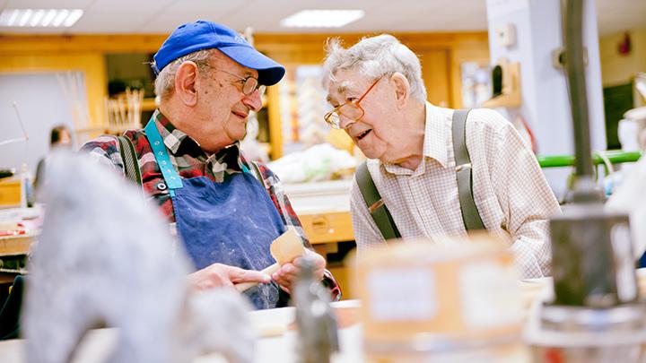 Blind Veterans UK rehabilitation centre