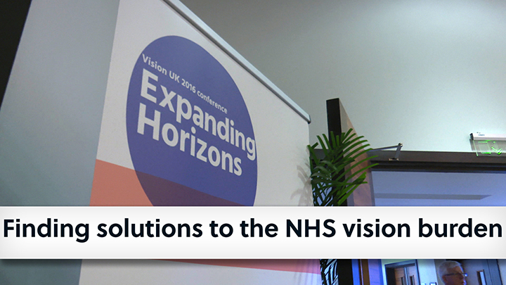 Finding solutions to the NHS vision burden