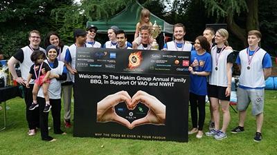 Hakim games fundraising event