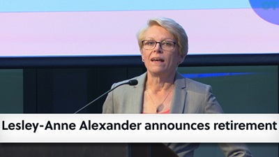 Lesley-Anne Alexander announces retirement