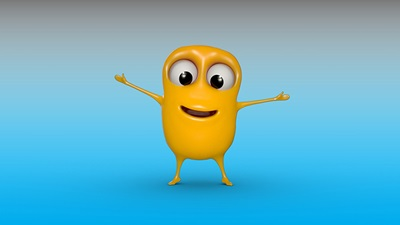 The Macular Society's new animated character 'Mac'