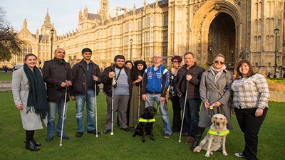 Sight Loss Parliament tour