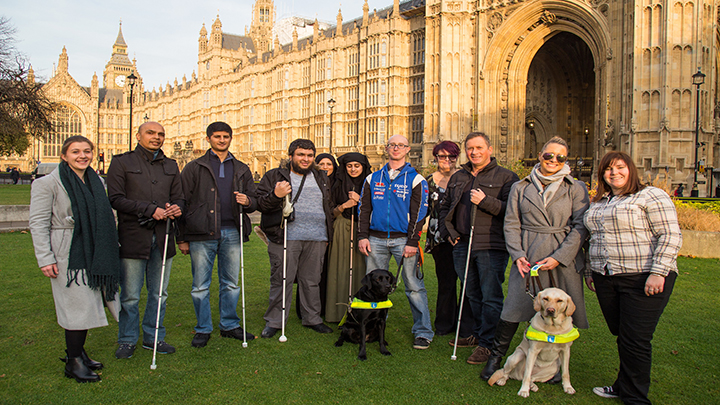 Sight Loss Parliament tour
