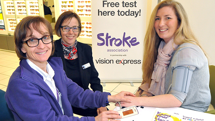 The Vision Express 'Know Your Blood Pressure' initiative offers free blood pressure checks in practice