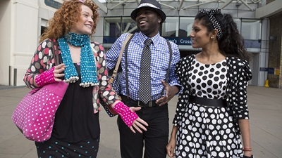 Spotted – People take part in RNIB's 'Wear dots...raise lots' campaign
