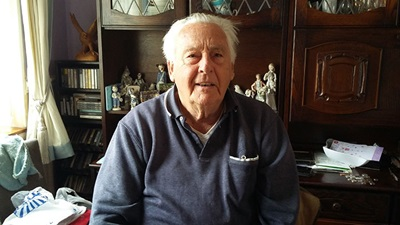 RAF veteran Norman Green