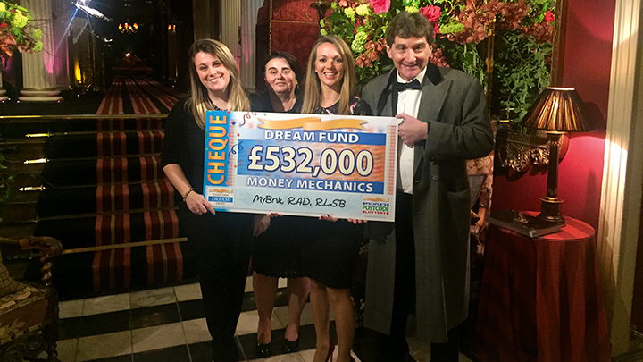 Lottery charity