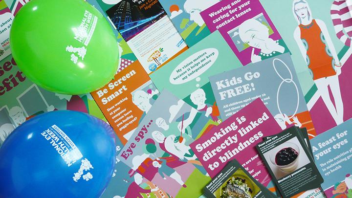 National Eye Health Week posters