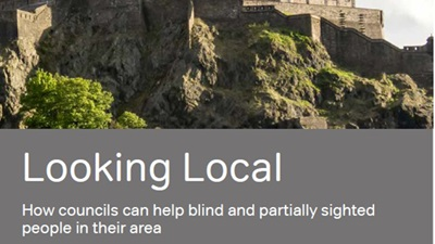 RNIB launches sight loss manifesto in Scotland