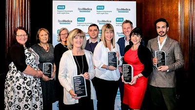 RNIB Vision Pioneer Awards winners