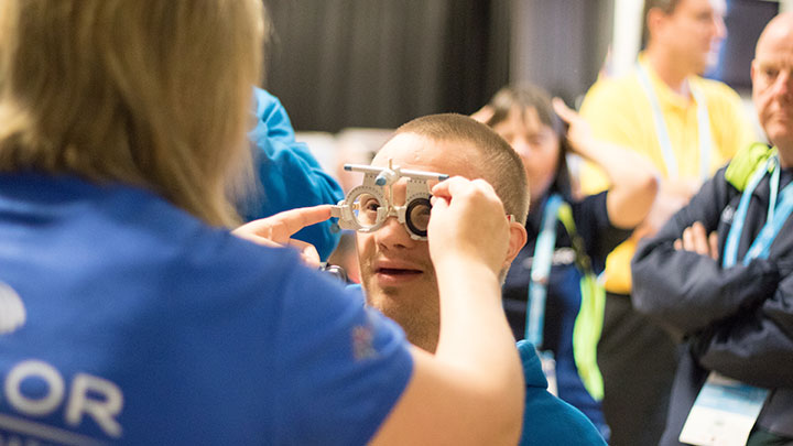 The Summer Games vision screening programme