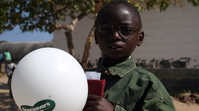 Vision Aid Overseas (VAO) programme funded by Specsavers