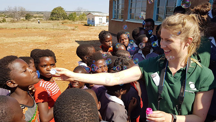 Optometrist Natalie Quinlan on her Vision Aid Overseas trip in Zambia