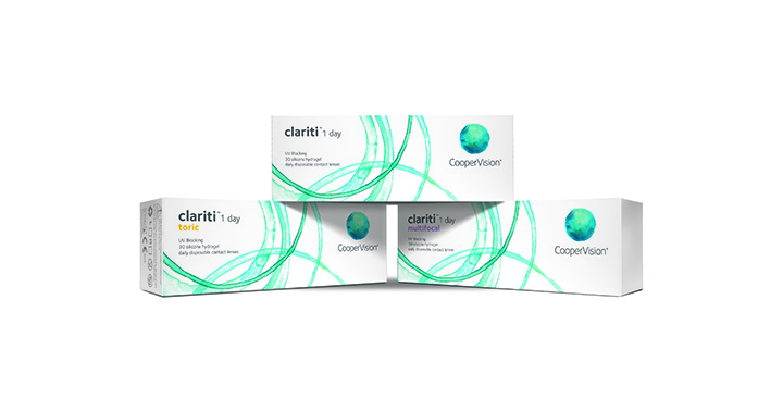 CooperVision unveils new campaign for clariti 1 day contact lenses