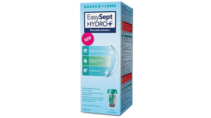 Bausch Lomb EasySept Hydro peroxide solution 2