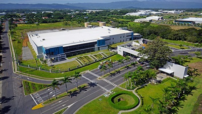 CooperVision manufacturing plant in Costa Rica
